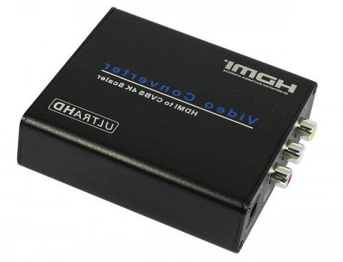 4K HDMI to AV Converter