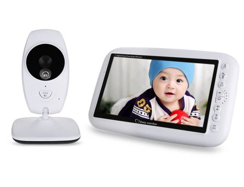 Wireless Video Baby Monitor with 7.0″ Large LCD Screen