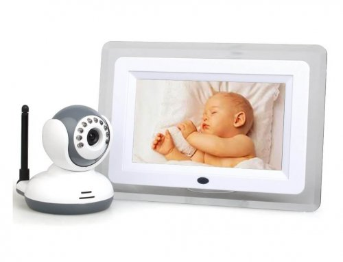 2.4GHz Wireless 7″ LCD Digital Baby Monitor