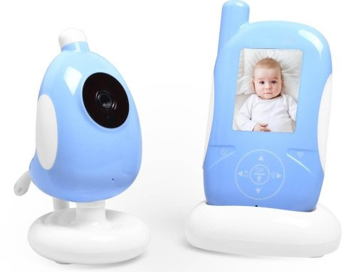 2.4 inch Wireless Baby Monitor With Camera Blue Color