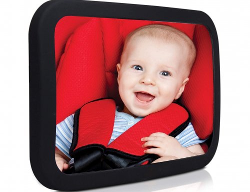 Baby Backseat Mirror For Car- Safe, Secure and Shatterproof