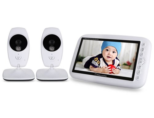7.0 inch Wireless Video Baby Monitor with Dual Cameras