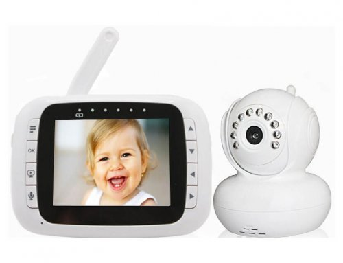 Wireless Camera 3.5 inch LCD Baby Video Audio Monitor
