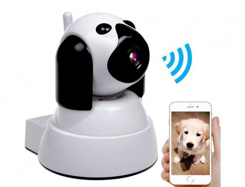 Wireless Dog IP Security Camera, WiFi Baby Camera Pet Monitor