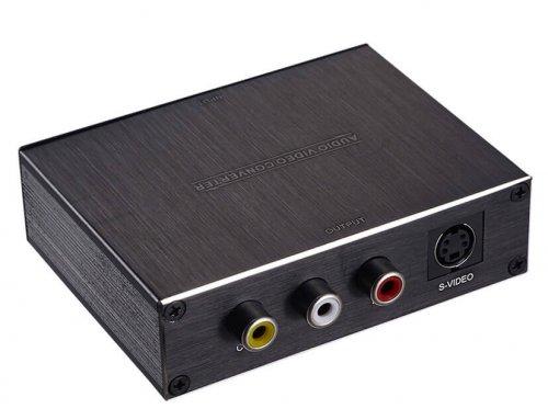HDMI to AV+S-Video Converter
