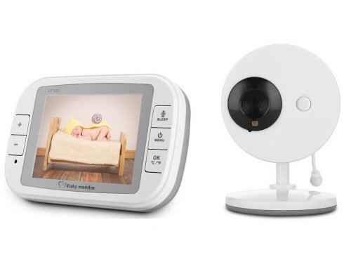 3.5″ Wireless Video Baby Monitor with LCD Display Digital Camera
