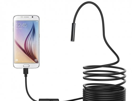 2 in 1 Waterproof USB Borescope Endoscope 5.5mm Camera