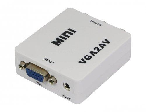 Mini VGA to AV Converter