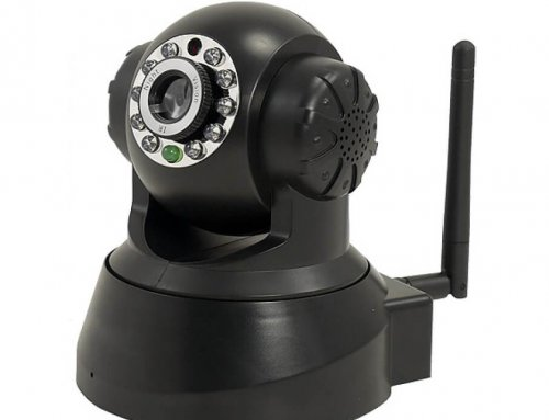 720P HD Indoor Home Security Surveillance WiFi IP Camera