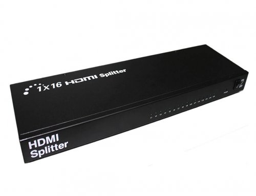 1×16 HDMI Splitter 3D,1080P