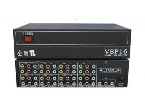 1×16 AV Splitter