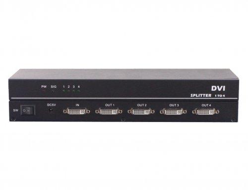 1×4 DVI Splitter