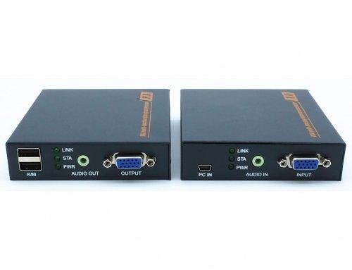 20KM VGA USB KVM Extender