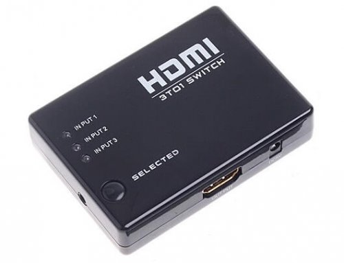 3×1 HDMI Switcher