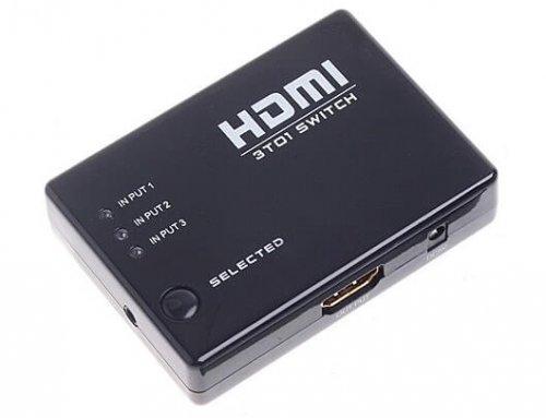 3×1 HDMI Switcher