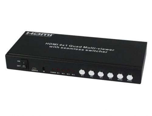4×1 HDMI Seamless Switcher