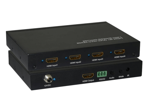 4×1 HDMI Multi-Viewer Switcher