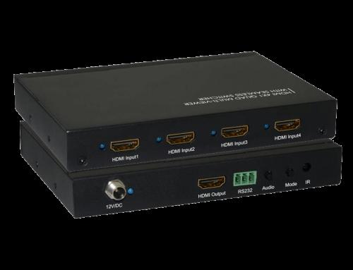 4×1 HDMI Multi-Viewer Switcher