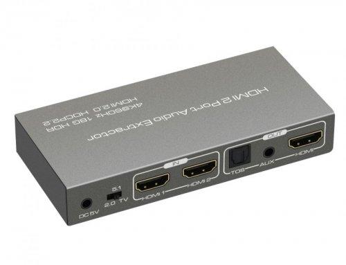 4K 2X1 HDMI 2.0 Switch,ARC