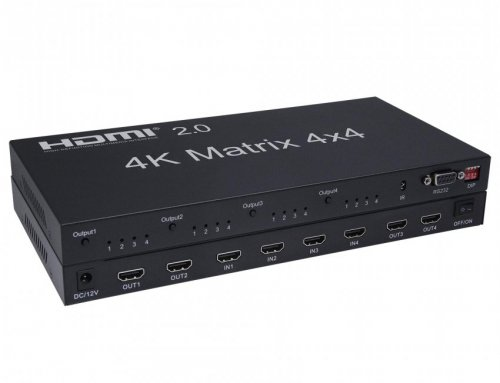 4K 4×4 HDMI 2.0 Matrix