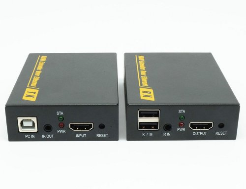 120m HDMI USB KVM Extender,IR