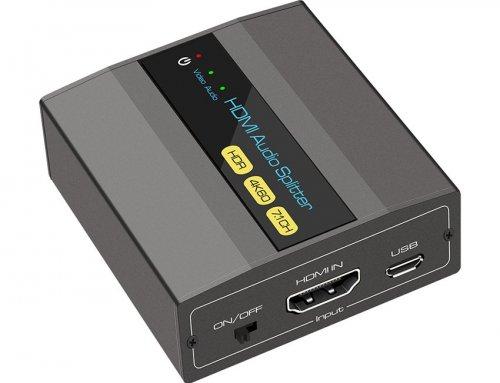 HDMI 7.1 Audio Extractor Splitter